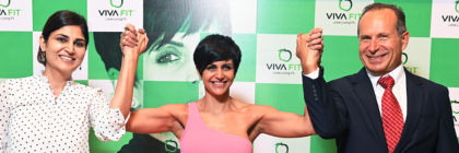 Atriz de Bollywood é embaixadora da Vivafit na Índia