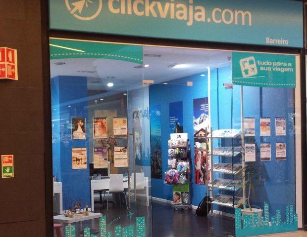 clickviaja.com inaugura unidade no Barreiro