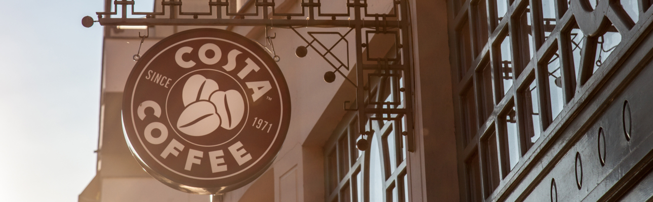 Coca-Cola compra franchise de coffee shops Costa por 4,3 mil M€