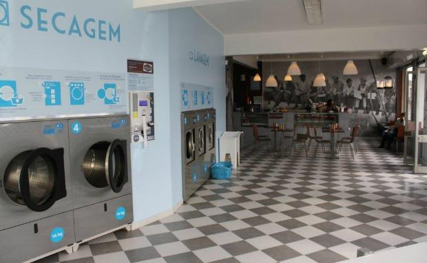 Lavar a roupa enquanto se toma café - cotton club