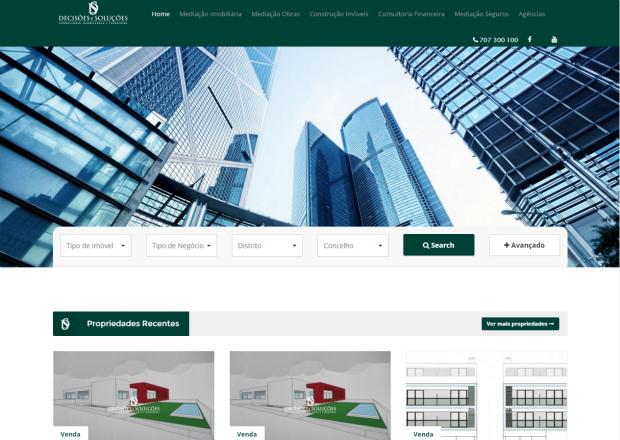 Decisões e Soluções tem novo site