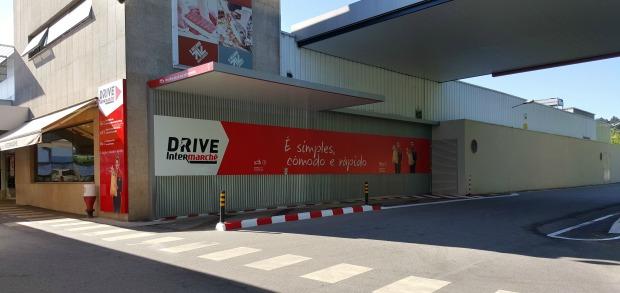 Loja online Intermarché de Póvoa do Lanhoso com serviço Drive.