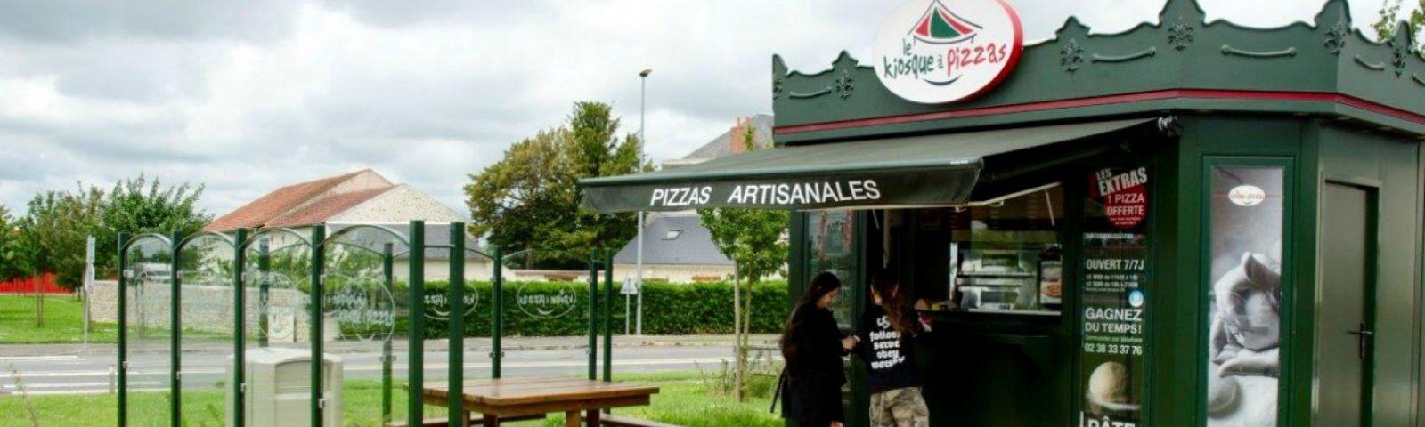 Quiosques de venda de pizzas chegam a Portugal em franchising - Le Kiosque à Pizzas