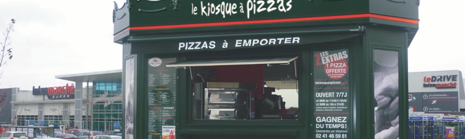 Le Kiosque à Pizzas quer fechar 2017 com 10 quiosques abertos