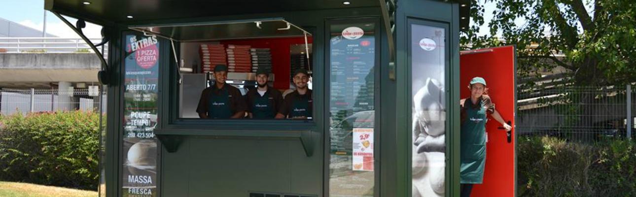 Le Kiosque à Pizzas abre novo quiosque na Lourinhã