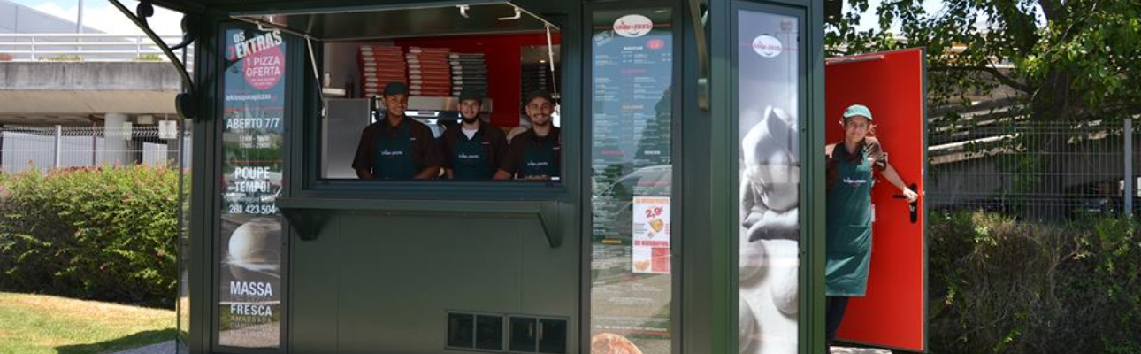 """Norte é """"prioridade"""" para a Le Kiosque à Pizzas"""