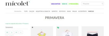 Negócio de venda de roupa em segunda mão chega a Portugal