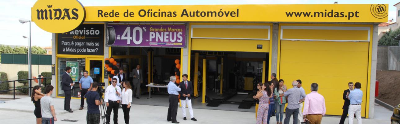 Midas abre três novas oficinas