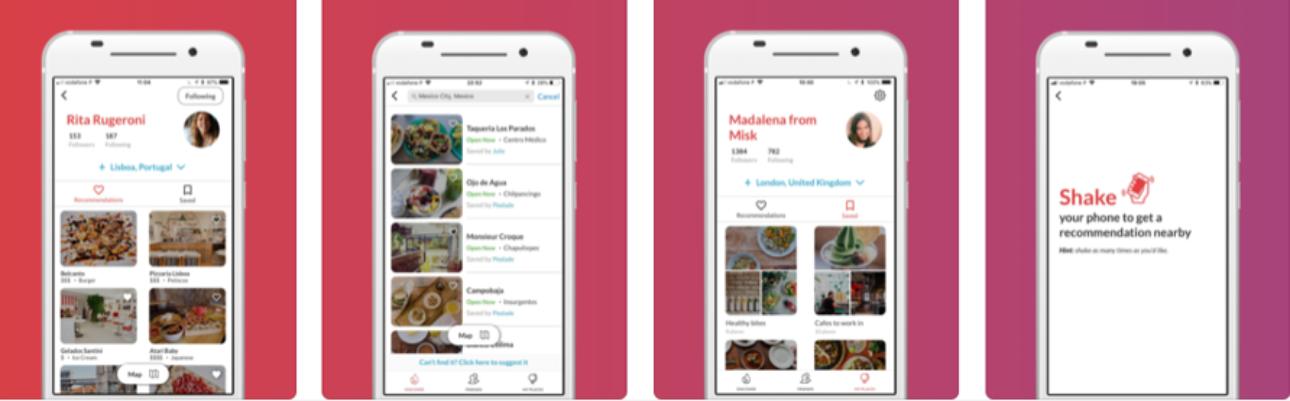 Startup portuguesa cria app que recomenda restaurantes