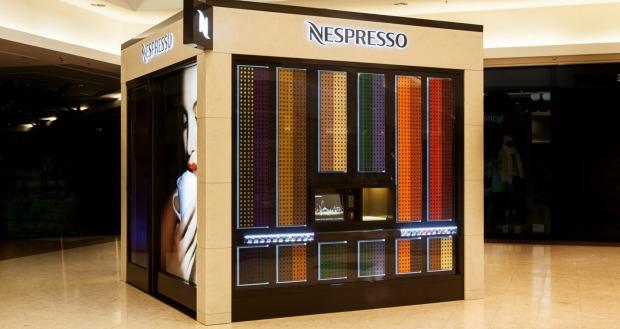 Marca Nespresso lança conceito de venda automática