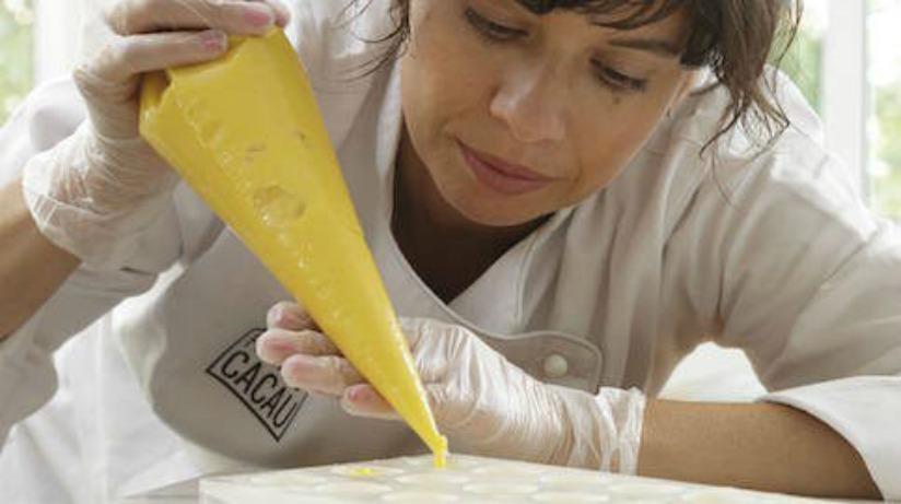 Raquel Lima decidiu mudar de vida e agora é 'artesã de chocolate'