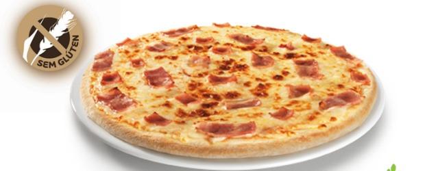 Telepizza Pizzas sem glúten