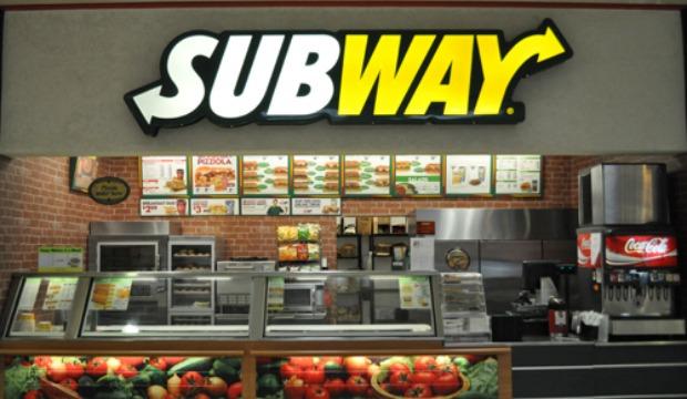 Vendas da Subway em queda nos EUA
