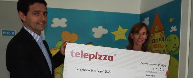 Telepizza e Associação Acreditar