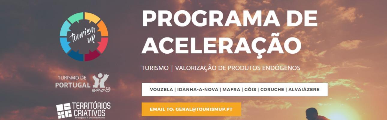 Tourism Up - programa de aceleração de projetos de turismo