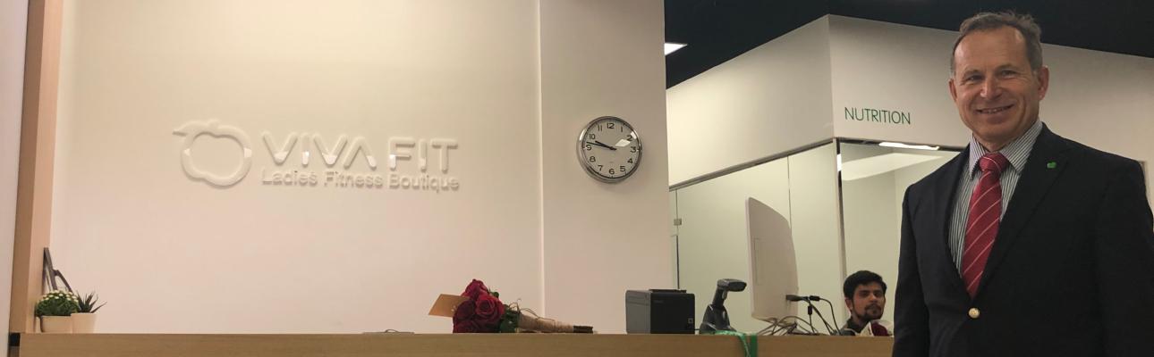 Vivafit abre o seu primeiro ginásio no Kuwait