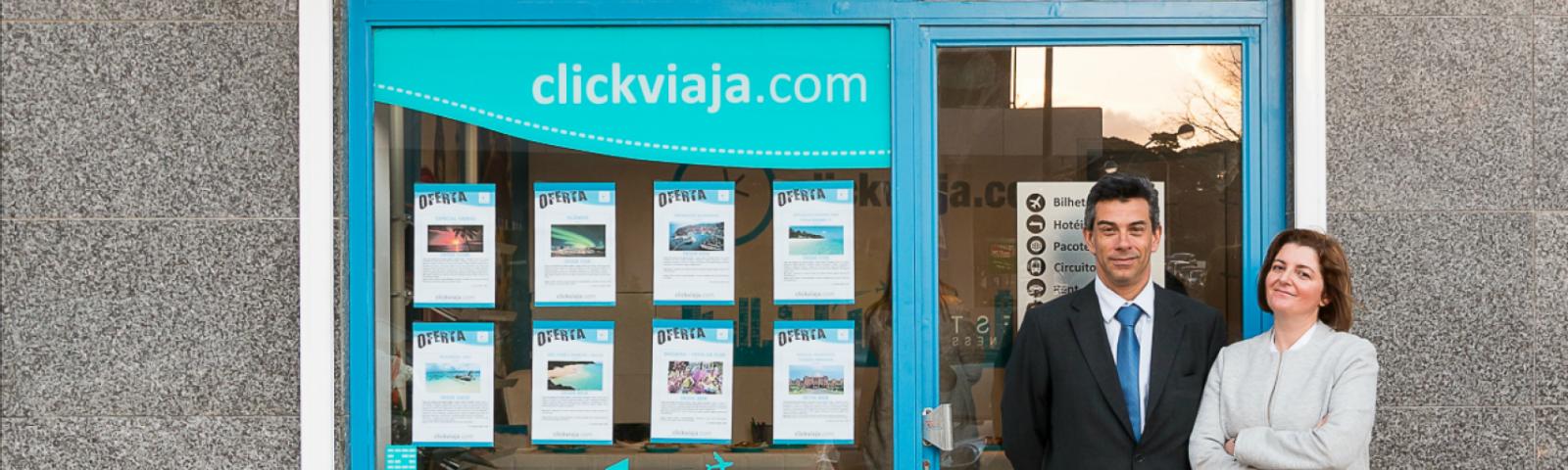 Clickviaja.com abre unidade no Restelo