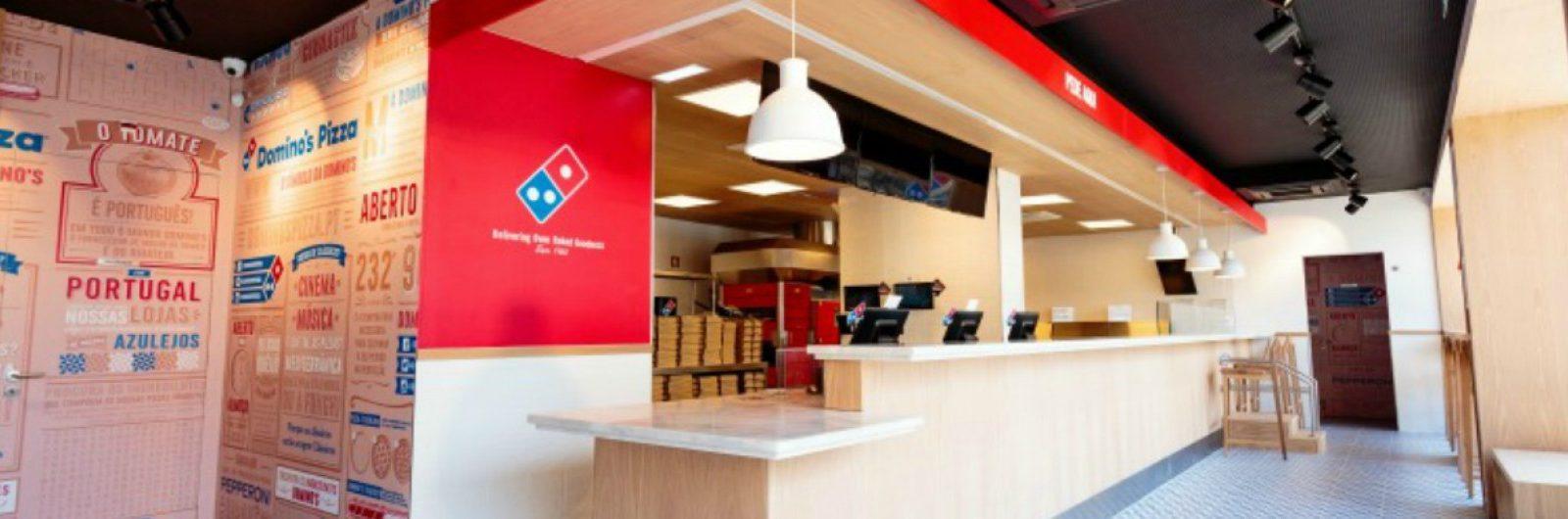 domino's pizza abre a primeira loja em Portugal