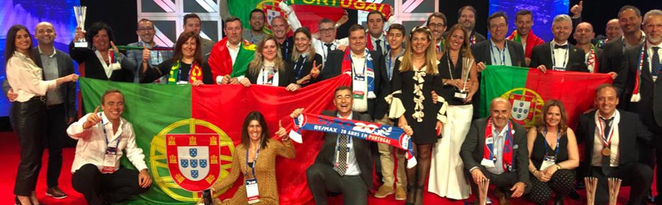 """A rede de franchising RE/MAX Portugal eleita """"Região do Ano – Melhor País da Europa"""" em Las Vegas"""