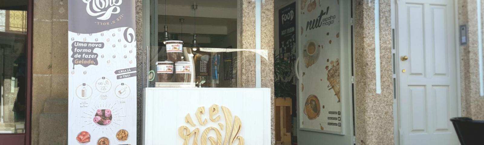 Lojas Nut' de Aveiro e Braga são as próximas paragens do conceito Ice N' Roll