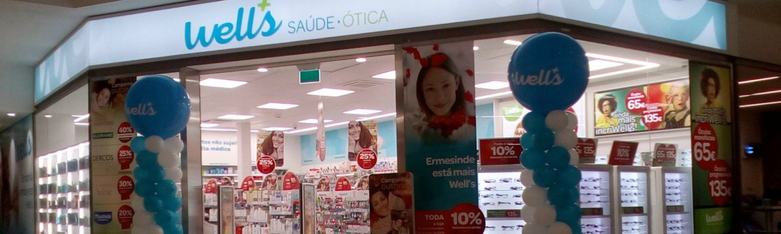 Franchising Well's abre 186ª loja no país