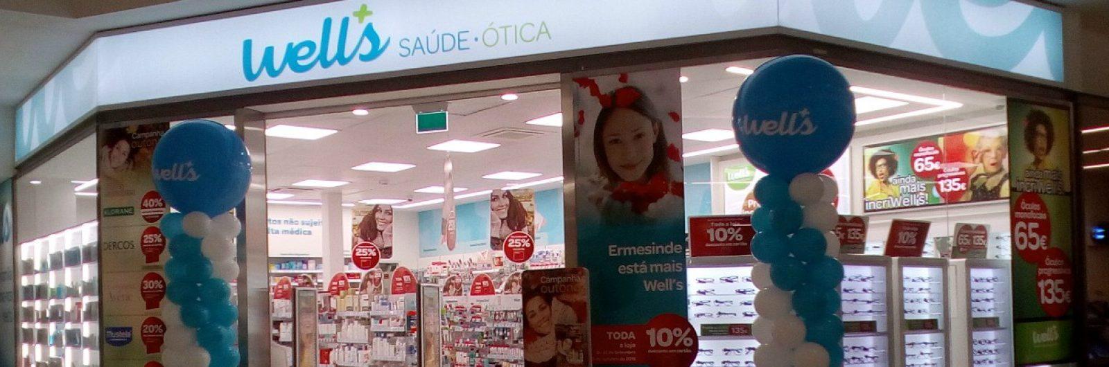 Franchising Well's abre 186ª loja no país