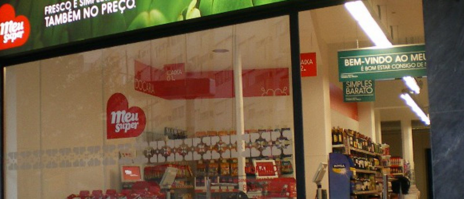Sonae abre os dois primeiros supermercados Meu Super