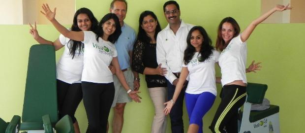 Vivafit abre 7º ginásio na Índia